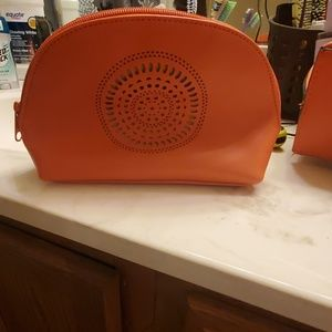 Neiman Marcus Bags - Orange Tote